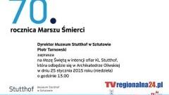 MSZA ŚWIĘTA W INTENCJI OFIAR KL STUTTHOF - 25.01.2015