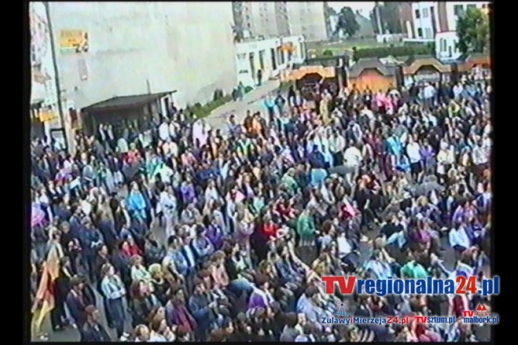 DNI MALBORKA 1991. TV MALBORK.PL ZAPRASZA NA PODRÓŻ W CZASIE
