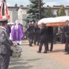 Pruszcz Gd. Pogrzeb kpt. pil. Krzysztofa Sobańskiego po katastrofie MiG-a 29