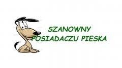 Urząd Miejski w Dzierzgoniu przypomina o opłatach za psy – 20.05.2016