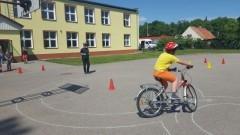 Waplewo Wielkie. Sztumska drogówka przeprowadziła egzamin na kartę rowerową – 30.05.2016
