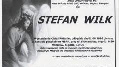 Zmarł Stefan Wilk. Żył 96 lat.