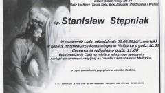 Zmarł Stanisław Stępniak. Żył 84 lata.
