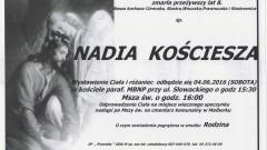 Zmarła Nadia Kościesza. Żyła 8 lat.