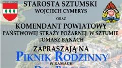 Dzień Powiatu z Piknikiem Rodzinnym i świętowaniem 50-lecia Zawodowej Straży Pożarnej w Sztumie – 17.06.2016
