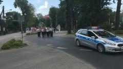 Drogówka ochraniała przemarsz korowodu podczas Festiwalu Teatrów Ulicznych – 2.07.2016