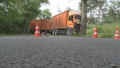 AKTUALIZACJA: Kierowca ciężarówki zasnął za kierownicą? Policja wyjaśnia okoliczności wypadku w Dzierzgoniu - 13.07.2016