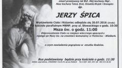 Zmarł Jerzy Śpica. Żył 62 lata