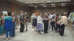 Zaułki Sztumu, pejzaże, ulotne chwile – obrazy poplenerowego wernisażu w SCK – 13.07.2016