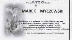 Zmarł Marek Myczewski. Żył 62 lata