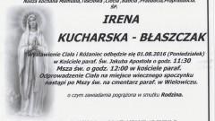 Zmarła Irena Kucharska - Błaszczak. Żyła 99 lat