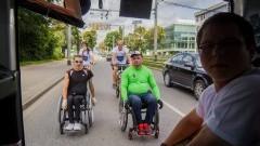 Pojechali z pomocą - The Best Trip 2016. Malbork wspierał Karolinę Wolanin, chorą na przepuklinę oponowo-rdzeniową - 03.08.2016