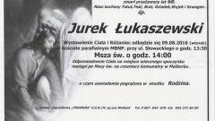 Zmarł Jurek Łukaszewski. Żył 68 lat.