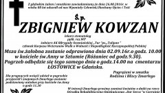 Zmarł Zbigniew Kowzan. Żył 88 lat.