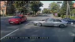 Staranował redakcyjny samochód. 18-latek zignorował znak STOP i wyprzedzał na skrzyżowaniu. Wypadek na Bałdowskiej w Tczewie - 26.09.2016