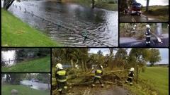 Stan alarmu powodziowego w Nowym Dworze Gdańskim. Strażacy podsumowują minioną dobę. - 05.10.2016