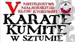 Pokazy technik i walki karate na V Mistrzostwach Malborskiego Klubu Kyokushin Karate Kumite w Sztumie – 5.11.2016
