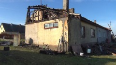 Potrzebna pomoc dla rodziny, która utraciła dach nad głową w pożarze w Michorowie – 19.10.2016