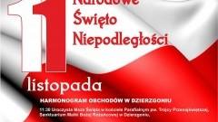 Burmistrz Dzierzgonia Elżbieta Domańska zaprasza mieszkańców na obchody święta 11 listopada (piątek) - Harmonogram uroczystości