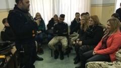 SZTUM: Uczniowie ZS w Dzierzgoniu w sztumskiej komendzie. Zadawali konkretne pytania – 23.11.2016