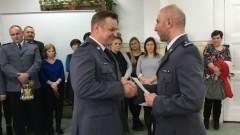SZTUM: Wyróżnienia za wieloletnią pracę w policji. Nowy kierownik Posterunku Policji w Dzierzgoniu – 24.11.2016