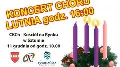 """Pastorałki, koncert Chóru """"Lutnia"""" i świąteczne potrawy. Powiślański Jarmark Adwentowy – 11.12.2016"""