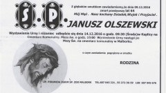 Zmarł Janusz Olszewski. Żył 64 lata.
