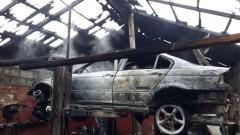 Pożar w Koniecwałdzie! Spłonął garaż z samochodem i warsztatem – 13.12.2016