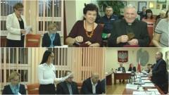 XXIV (Budżetowa) Sesja Rady Miejskiej w Dzierzgoniu. Wręczono tytuły: Honorowy Obywatel gminy (Ksiądz Prałat Jan Czajkowski) oraz Zasłużony dla gminy (Jolanta Opalewska) - 28.12.2016