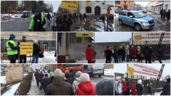 SZTUM: Protest mieszkańców przeciwko Antoniemu Fili. Zobacz pełne nagranie wideo - 20.01.2017