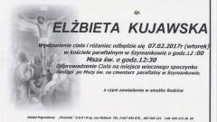 Zmarła Elżbieta Kujawska. Żyła 57 lat.