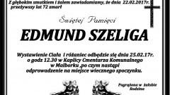 Zmarł Edmund Szeliga. Żył 72 lata.