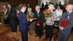 Medale za Długoletnie Pożycie Małżeńskie. Jubileusz 50-lecia w sali Urzędu Stanu Cywilnego w Sztumie - 17.02.2017