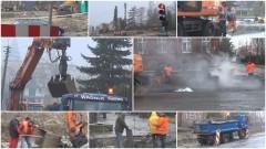 Sztum: Wznowienie robót przy przebudowie skrzyżowania – 06.03.2017
