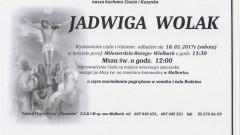 Zmarła Jadwiga Wolak. Żyła 95 lat.