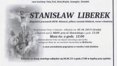 Zmarł Stanisław Liberek. Żył 71 lat.