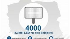 Lepiej oświetlone dworce i perony czyli 4 tys. LED-ów na kolei - 04.04.2017