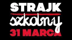 Sztum: Nauczyciele Gim. nr 1 stanęli w obronie praw pracowniczych. Strajk pracowników oświaty ZNP - 31.03.2017