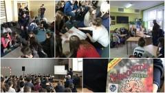 Gmina Sztum: STOP: alkoholowi, narkotykom i przemocy. Spotkanie profilaktyczne policjantów z gimnazjalistami - 06.04.2017
