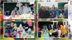 Dzierzgoń: Pisanki, pluszowe zające i świąteczne baranki. Udany przedświąteczny kiermasz – 08.04.2017