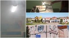 Wybuch w trakcie lekcji chemii w II LO w Malborku. Uczeń z poparzeniami twarzy i rąk trafił do szpitala – 17.05.2017