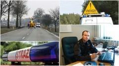 Gm. Dzierzgoń: Poważny wypadek w Nowcu. Strażak po służbie udzielił pierwszej pomocy i wzorowo zabezpieczył miejsce zdarzenia – 01.06.2017