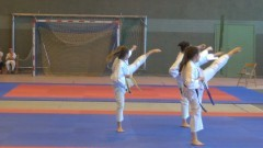 Pokaz umiejętności młodych wojowników. IX Otwarte Mistrzostwa Kyokushin Karate w Malborku. Zobacz wyniki finałów - 03.06.2017
