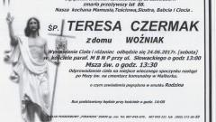 Zmarła Teresa Czermak. Żyła 88 lat.