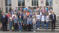 Sztumscy samorządowcy powitali polonijne dzieci i młodzież z białoruskiej Brasławszczyzny – 11.07.2017