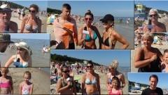 Projekt Plaża. Kąty Rybackie. Pytamy z kamerą jak wam się podoba. - 30.07.2017