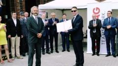 Uroczyste zakończenie inwestycji budowy mostu przez Nogat wraz z dojazdami w Malborku w ciągu dróg krajowych nr 22 i 55 (Pełne nagranie wideo, zdjęcia) - 31.07.2017