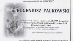 Zmarł Eugeniusz Falkowski. Żył 78 lat
