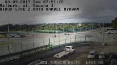 Malbork: Kolejny sygnalizator do wymiany. Kierowca uciekł z miejsca zdarzenia - 03.09.2017