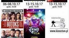 """Sztum : Kino """"Powiśle"""" zaprasza na seanse filmowe w październiku - 06 - 29.10.2017"""